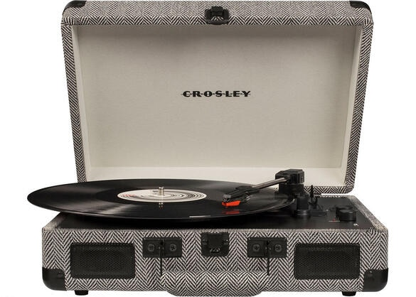 Crosley Cruiser Deluxe Herringbone Turntable