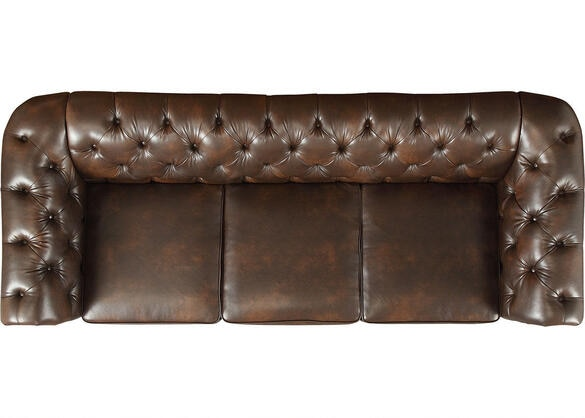 Barrington Faux Leather Sofa