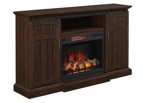 Sonora Complete Fireplace