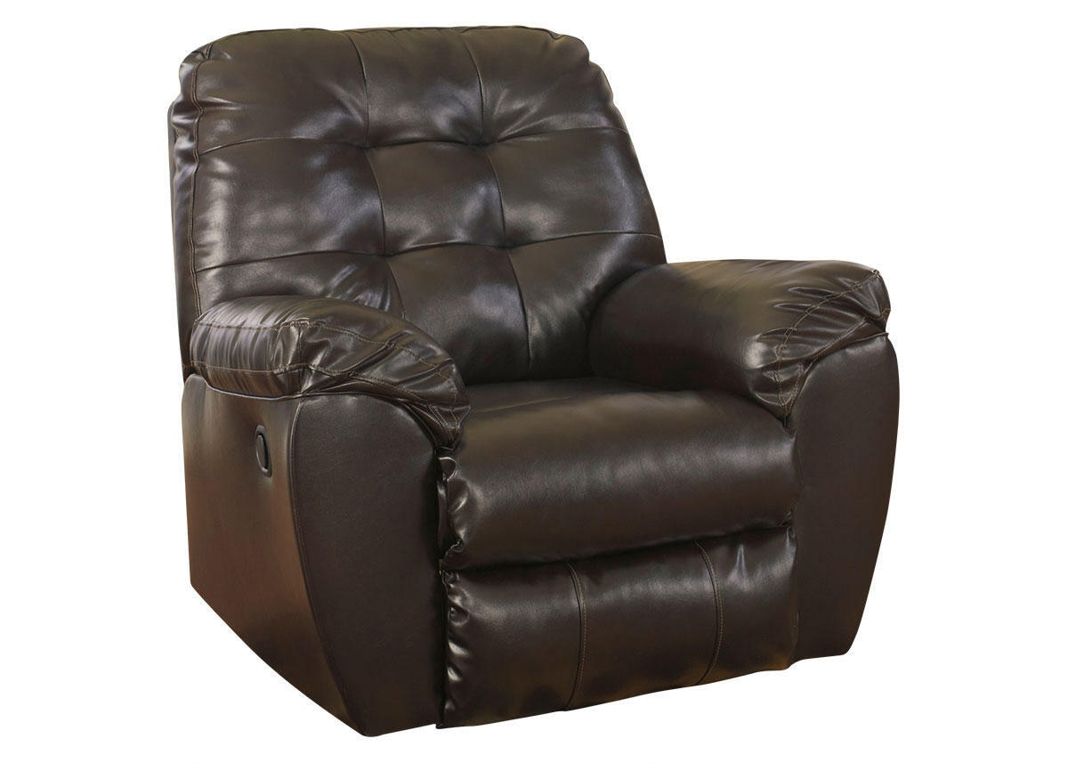 MAXIM 3 PC LAF SECT W/RECLINER CHOCOLATE
