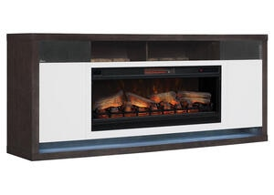 Luca Complete Fireplace W/sound Bar