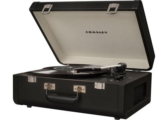 Crosley Portfolio Black Portable Turntable