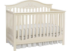 Mia Sugar Cookie Convertible Crib by Fisher Price