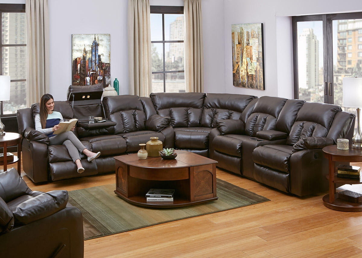 NOLAN 3 PC PWR SECTIONAL