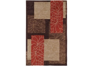 Surya Cosmopolitan Orange Rug - COS8889