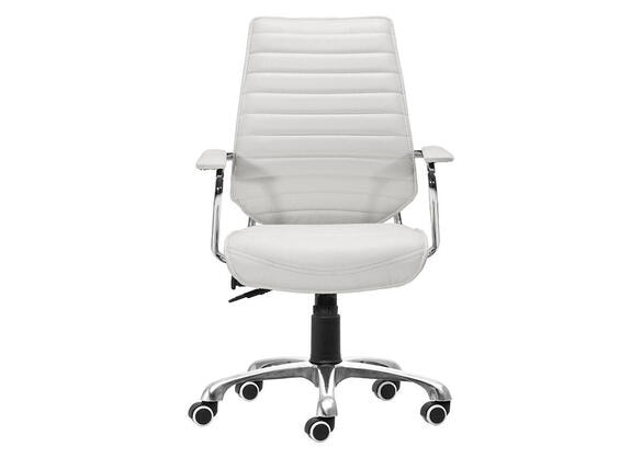 Enterprise White Office Chair