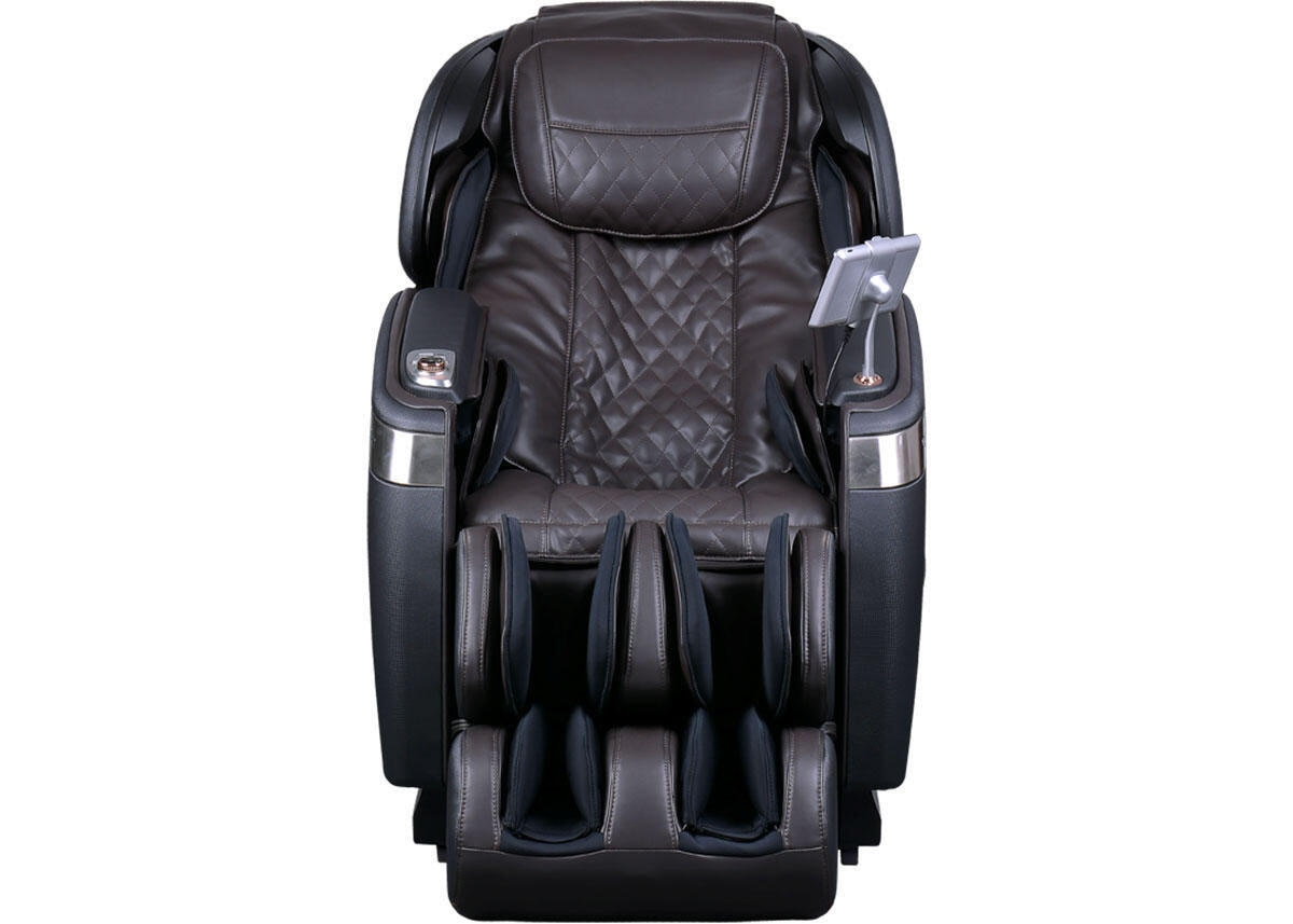 Tranquility Espresso and Pearl Black Massage Chair