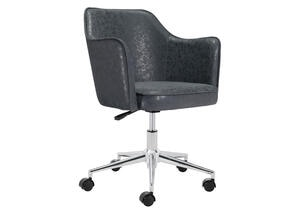 Keen Office Chair Black Black