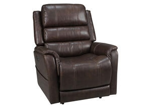 Omega Pwr Recliner Walnut