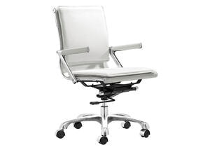 Lider Plus White Office Chair