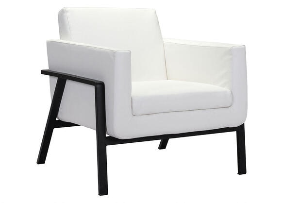 Homestead Lounge Chr White White
