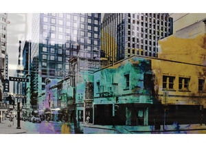 Urban Landscape Wall Decor Multi