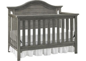 Catania Farmhouse Gray Convertible Crib by Ti Amo