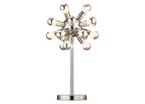 Pulsar Table Lamp Silver