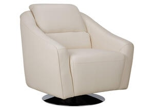 Mars White Swivel Chair