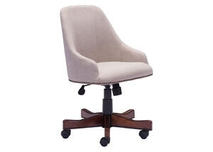 Maximus Beige Office Chair