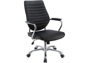 Contemporary Black High-Back Office Chair by Scott Living