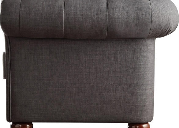 Barrington Charcoal Linen Sofa