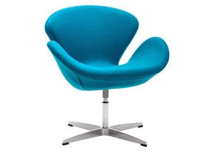 Pori Arm Chair Island Blue Blue