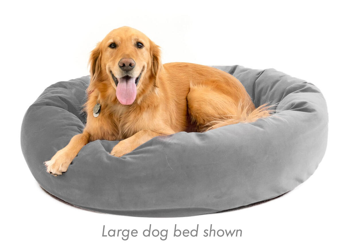 Memorypedic Dog Bed Ash
