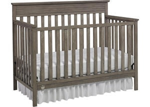 Newbury Vintage Gray Convertible Crib by Fisher Price