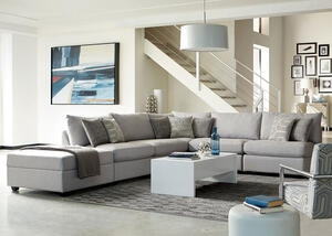 Charlotte 6 Pc. Sectional by Scott Living