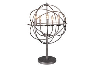 Rossana Table Lamp Brown
