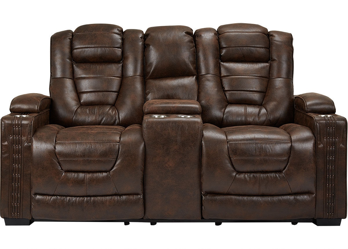 Gibson Power Loveseat w/Power Headrests