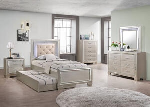 Bari 6 Pc. Youth Twin Bedroom