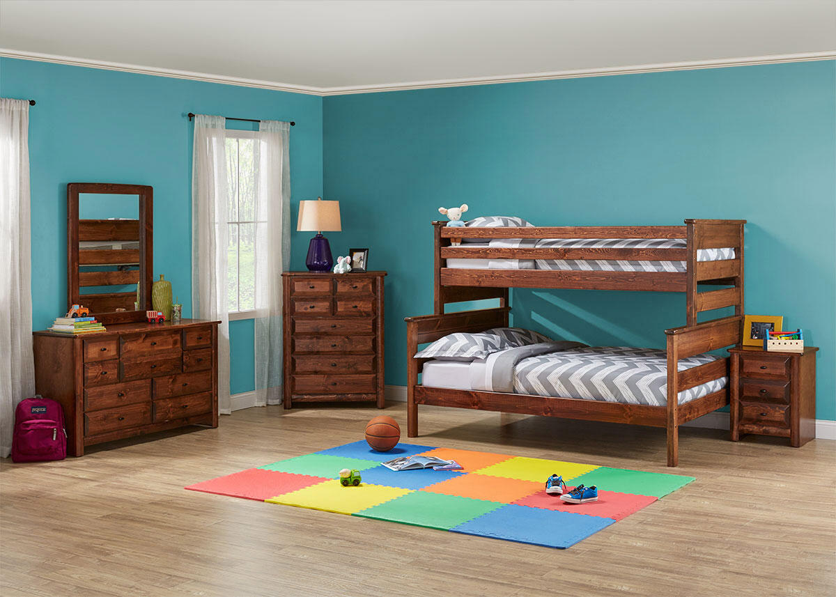 Catalina 5 Pc. Twin/Full Bunk Bedroom