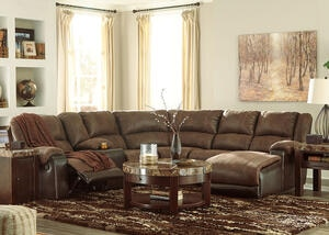 York Coffee 6 Pc. Sectional