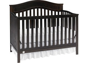 Aubree Espresso Convertible Crib by Fisher Price