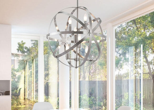 Chronos Ceiling Lamp Gray