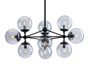 Handrich Ceiling Lamp Black