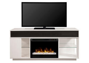 Dimplex Audio Flex Lex White Fireplace