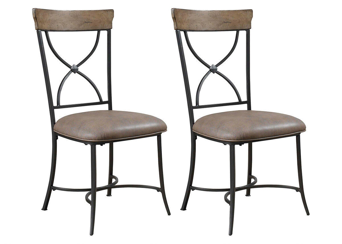 Charleston 2 Pc Dining Chair Set