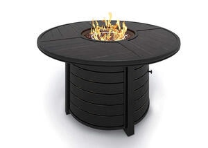 Turtle Bay Fire Pit Table Gray