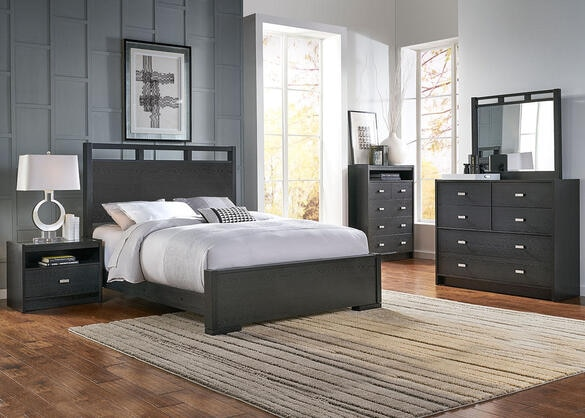 Metro 8 Pc. King Panel Bedroom