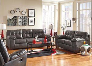 MAXIM 3 PC LIVING ROOM GRAY