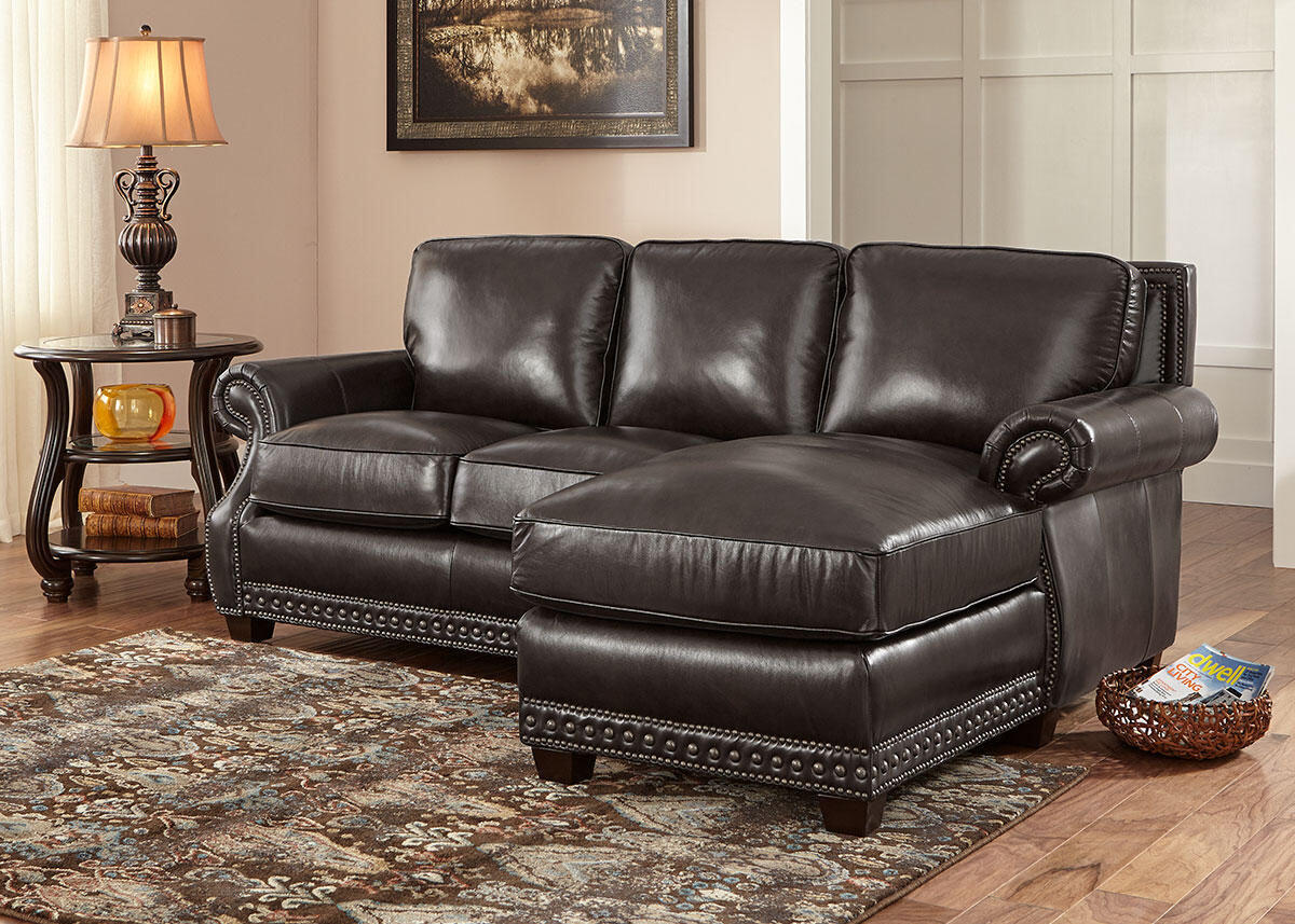 Genoa Charcoal 2 Pc. Sectional