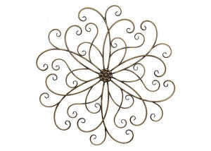 Classic Medallion Wall Decor Bronze