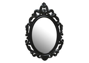 Black Baroque Mirror Black