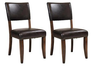 Cameron 2 Pc Parson Dining Chair Set