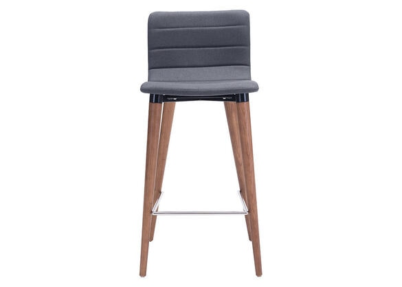 Jericho Counter Chair Gray Gray