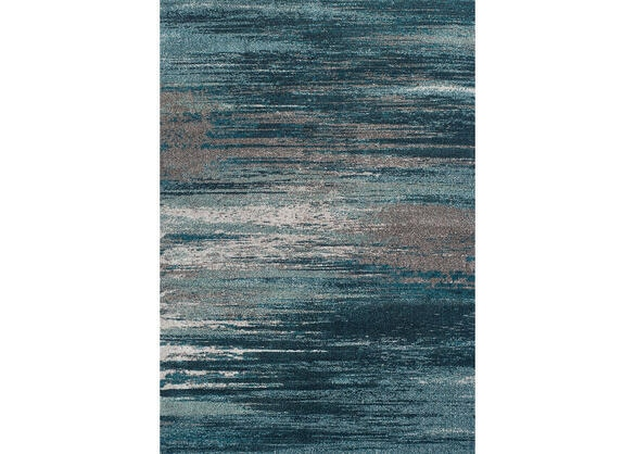 Dalyn Modern Gray Teal Area Rug