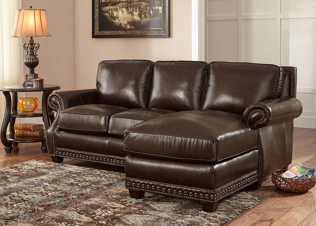 Genoa Chocolate 2 Pc. Sectional