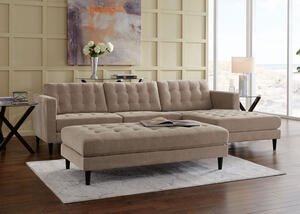 Sydney 2pc Sectional Sydney Taupe