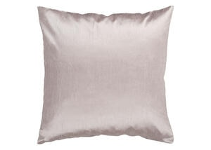 Solid Luxe Throw Pillow Brown