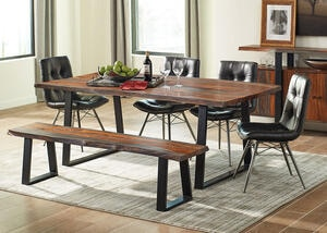 Jamestown 6 Pc. Dinette w/Buck Chairs by Scott Living