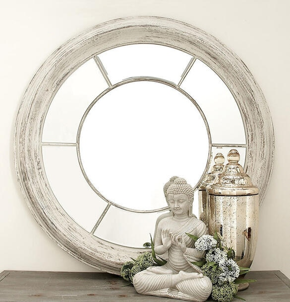 Arlington Wall Mirror White